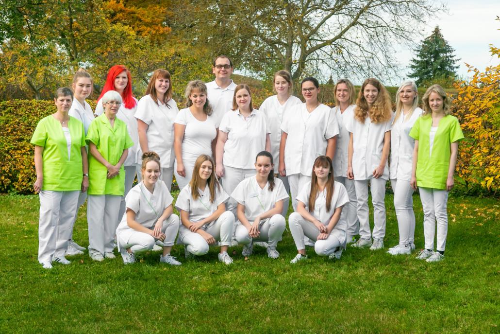 Team der Kleintierklinik Dr. Meisinger 2020